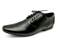 รองเท้าคัทชู FA-94 หนังนิ่มดำ
