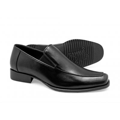 รองเท้าคัทชู FB-09 หนังนิ่มดำ
