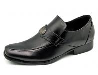 รองเท้าคัทชู FB-10 หนังนิ่มดำ