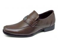 ลด 50% รองเท้าคัทชู FB-10 หนังนิ่มตาลแก่