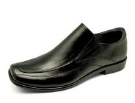 รองเท้าคัทชู FB-31 หนังนิ่มดำ