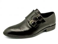 รองเท้าคัทชู FB-93 หนังนิ่มดำ