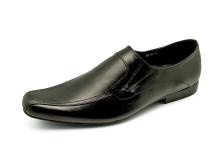Men Loafers FB-95 Black Nappa