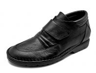 ลด 50% รองเท้าบูท FD-17 หนังปั่นนิ่มดำ-นิ่มดำL