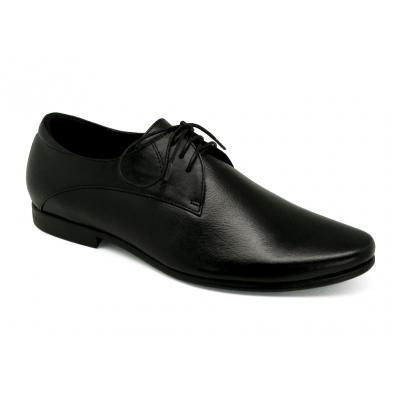 รองเท้าคัทชู HFA-05 หนังนิ่มสีดำ