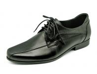 รองเท้าคัทชู HFA-08 หนังนิ่มดำ