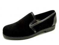 ลด 50% รองเท้าคัทชู HFB-05 หนังกลับดำ-นิ่มดำ