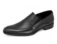 รองเท้าคัทชู HFB-06 หนังนิ่มดำ