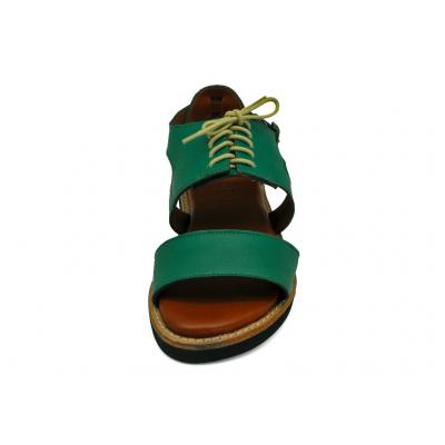 รองเท้าแตะ HFT-02 หนังนิ่มฟ้าเทอร์ควอยซ์