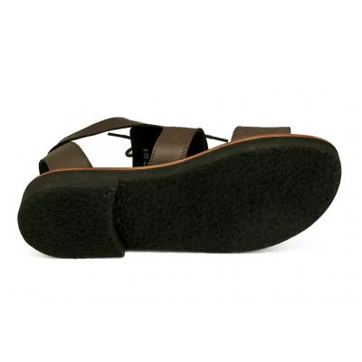 รองเท้าแตะ HFT-02 หนังAตาลอัดลายมุ้ง-นิ่มตาลขัดเงา