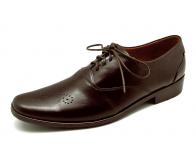 ลด 50% รองเท้าคัทชู HMC-11 หนังนิ่มตาลแก่