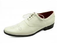 ลด 50% รองเท้าคัทชู HMC-11 หนังนิ่มขาว