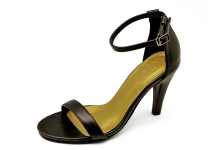 Women Sandals HSC-60 Black Nappa