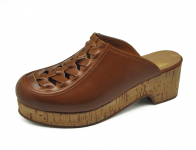 รองเท้าแตะ HSC-68 หนังCCOสีครีม