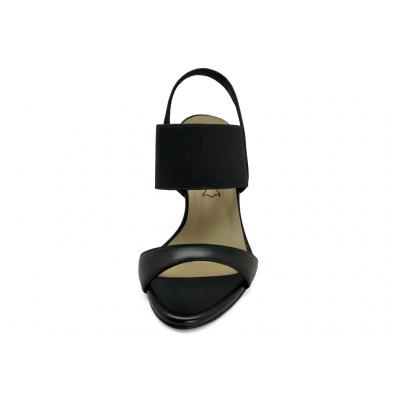 รองเท้าแตะ HSC-82 หนังนิ่มดำ