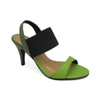 รองเท้าแตะ HSC-82 หนังนิ่มเขียวอ่อน-หนังนิ่มเขียวขี้ม้า