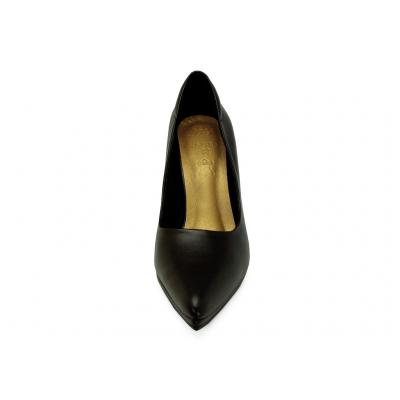 รองเท้าคัทชูส้นสูง HSC-89 หนังนิ่มดำ