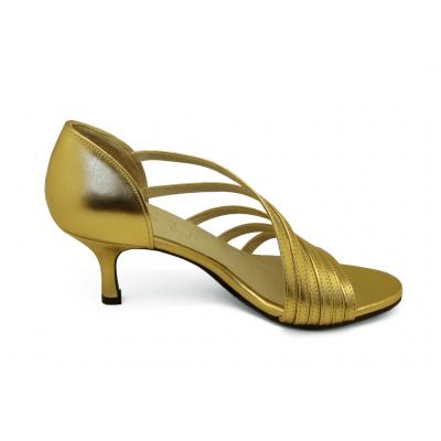 รองเท้าแตะ HSV-24 หนังยับลายทอง