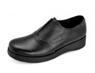 รองเท้าคัทชู LC-33 หนังนิ่มดำ