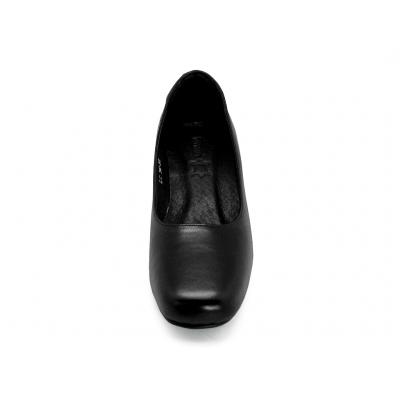 รองเท้าคัทชู LC-34 หนังนิ่มดำ