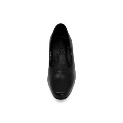 รองเท้าคัทชู LC-35 หนังนิ่มดำ