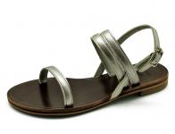 ลด 50% รองเท้าแตะ LS-09 หนังเมทัลลิคเงิน