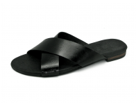 รองเท้าแตะ LS-10 หนังCCOดำ