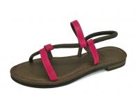 ลด 50% รองเท้าแตะ LS-11 หนังนิ่มบานเย็น-หนังวัวตาลแก่