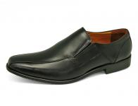 รองเท้าคัทชู MB-01 หนังนิ่มดำ
