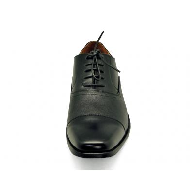 รองเท้าคัทชู MB-02 หนังนิ่มดำ-ดำลาย