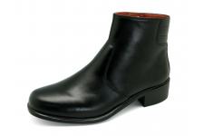 รองเท้าบูท MB-03 หนังนิ่มดำ