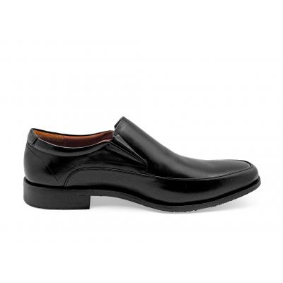 รองเท้าคัทชู MB-04 หนังนิ่มดำ