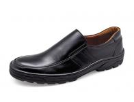 รองเท้าคัทชู MB-05 หนังนิ่มดำ