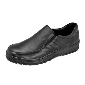 รองเท้าคัทชู MP-17 หนังนิ่มดำ