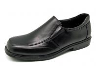 รองเท้าคัทชู MS-06 หนังนิ่มดำ