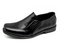 รองเท้าคัทชู MS-09 หนังนิ่มดำ