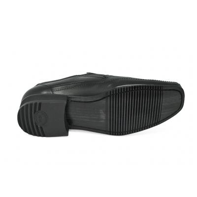 รองเท้าคัทชู MS-23 หนังนิ่มดำ