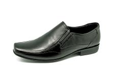 Men Loafers MS-23 Black Nappa