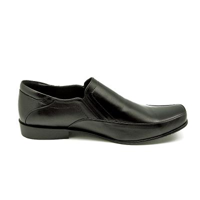 รองเท้าคัทชู MS-24 หนังนิ่มดำ