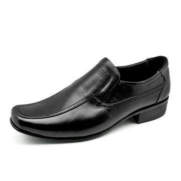 รองเท้าคัทชู MS-25 หนังนิ่มดำ