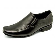 รองเท้าคัทชู MS-26 หนังนิ่มดำ