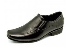 Men Loafers MS-26 Black Nappa
