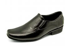 Men Loafers MS-26 Black Nappa
