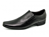 รองเท้าคัทชู MS-27 หนังนิ่มดำ