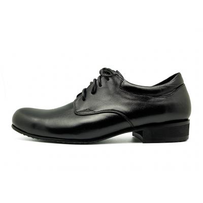 รองเท้าคัทชู MS-28 หนังนิ่มดำ