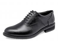 รองเท้าคัทชู MS-29 หนังนิ่มดำ