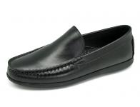ลด 50% รองเท้าคัทชู MV-06 หนังนิ่มดำ