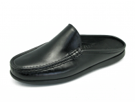 รองเท้าแตะ MV-08 หนังนิ่มดำ