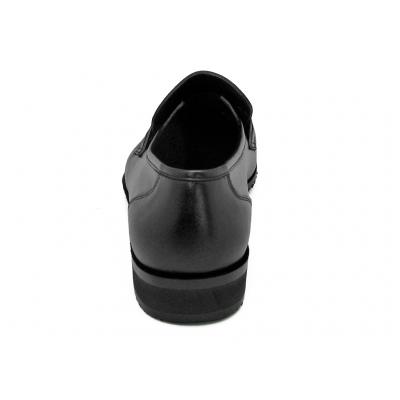 รองเท้าคัทชู MV-09 หนังนิ่มดำ