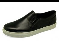 ลด 50% รองเท้าคัทชู MV-10 หนังนิ่มดำ